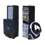 PS4 DOBE 멀티 타이틀 수납장 / 본체 및 VR 거치가능