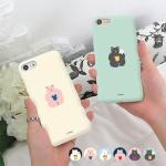 [아이폰8] 뚱곰 3D 하드 케이스