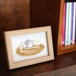 프랑스자수 자수액자 DIY 키트 - 돼냥이 세마리