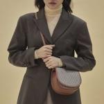 [펀프롬펀]Kate mini bag_check (camel)