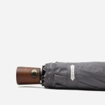 파라체이스 프리미엄 우드 그립 전자동 3단 우산 3218