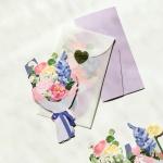 폴딩카드 & 용돈봉투 - 작약