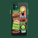 컬러펑키 카메라보호 반투명 케이스 아이폰11 pro max