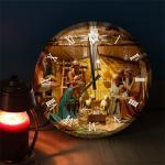 ng434-LED시계액자35R_아기예수태어난날