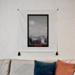 포토 행잉 패브릭 포스터_Out of window 01