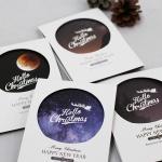 아이씨엘 크리스마스 포토 카드 - night 8set