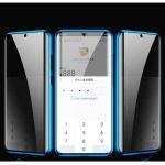 아이폰XS MAX 마그네틱 시크릿필터 투명글라스 풀커버