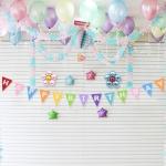 홈파티 생일 풍선세트-08 (헬륨가스포함)