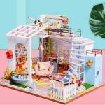 [adico]DIY 미니어처 하우스 - 루프탑 하우스