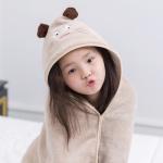 [클라모프] 어린이 애니멀 타올 목욕가운
