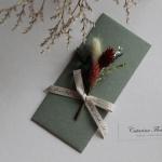프리저브드꽃 명절상품권돈봉투(카키)
