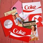 코카콜라 엽서 Ver.2