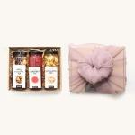 [9월22일 예약발송] 단아한 보자기 수제청 선물세트