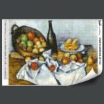 DIY 보석십자수 사과바구니가있는정물 BS38-003