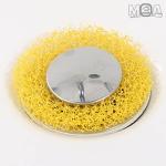 도넛 머리카락 방지 필터 24P 머리카락방지 욕조캡