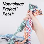 NPP 강아지 고양이 터그놀이 이갈이 치석제거 장난감