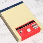 옥스포드 A4 40매×10권 리갈패드-노랑 ALP01301