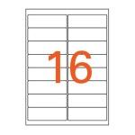 잉크젯 투명라벨(IC 3107 5매 16칸 폼텍)