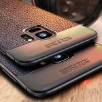 갤럭시 노트 슬림핏 웨어러블 가죽 TPU 핸드폰 케이스