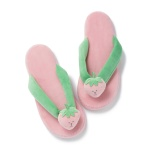 크래프트홀릭 STRAWBERRY RAB FLIP FLOPS