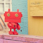 DIY Robot No.5 Paper Craft