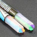 펜하나에 두개의 색상이..고쿠요 Dual 형광펜-비틀팁