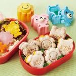 샌드위치 커터-토끼-곰-해바라기꽃 3P