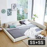모닝듀 패밀리A형 가드 침대 SS+SS (포켓매트) OT067