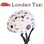 런던택시 어린이용 헬멧 (런던택시 카)(유아동헬멧)(자전거/인라인 겸용헬멧)