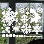 눈꽃스티커(001) - 크리스마스스티커(S사이즈)