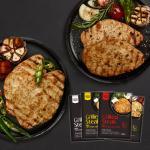 [원더그린] 감동닭 그릴드 닭가슴살 스테이크 4종 8팩