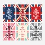 Keep Calm 킵캄 유니언잭 포스터 - A4
