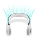 360도 수직바람 넥밴드 휴대용 선풍기