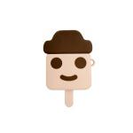 에어팟1 2세대 아이스크림 젤리 케이스_하드바 sap490