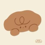 [11월2일출고] [자꾸자꾸] 강아지 푸푸 얼굴 마우스패드