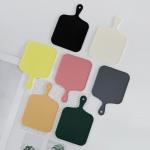 트리니 사각 실리콘 코스터 컵받침 7colors