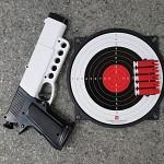 금메달 공기권총 안전사격다트