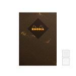 [로디아] 헤리티지 실제본 노트 A5 쉐브론 블랙 (줄지/격자)
