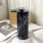 휴대용 원터치 뚜껑 실리콘 마개 보온 보냉 텀블러
