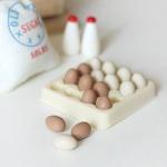 [콩지] 미니어쳐 계란 한판