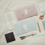 메세지 폴딩 카드 세트 (4매 SET)