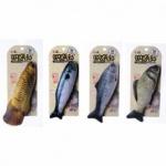캣닢 생선 디자인 인형 토이 반려묘 용품 모양 랜덤