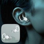 소음방지 나노 실리콘 이어플러그 귀마개/수면/수험생