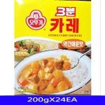 3분 약간매운맛 카레 즉석식품 업소용 200gX24