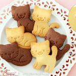 푸쉬용 쿠키커터-고양이 3P