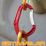 이지트래블러 곡선형 7cm 카라비너 / 2개세트