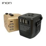 아이논 USB 4포트 해외 여행용 어댑터 IN-TA410C