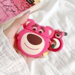 에어팟케이스 1/2 캐릭터 키링세트 실리콘 119 핑크