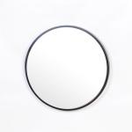 우드 카운티 원형 모던 벽거울 420-블랙