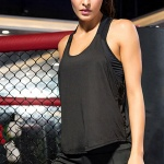 바디핏 여성 스포츠 슬리브리스(블랙) (M)